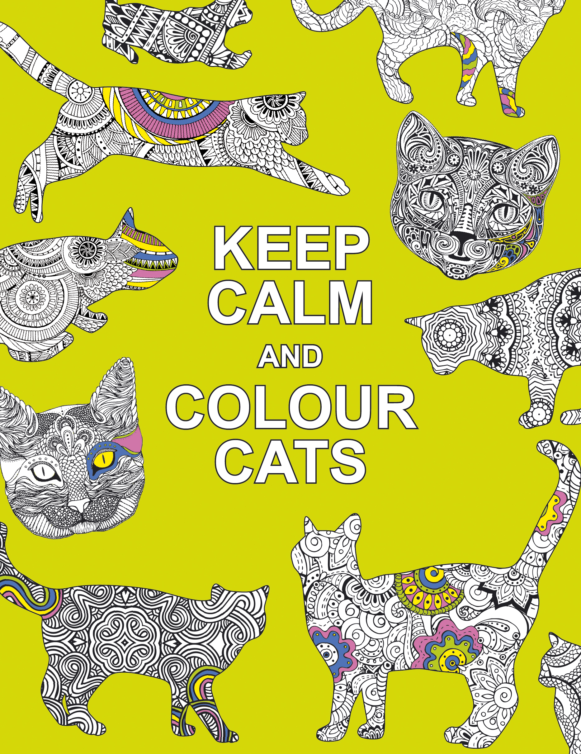 Keep Calm and Colour Cats