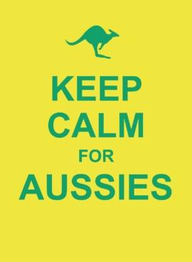 Keep Calm for Aussies