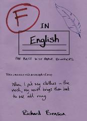 F in English