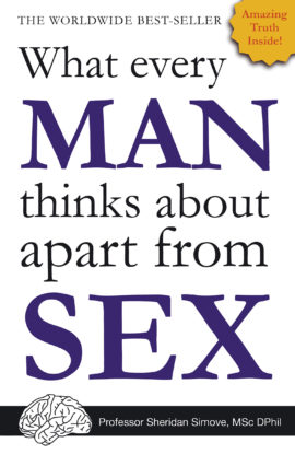 What Every Man Thinks About Apart from Sex… *BLANK BOOK*